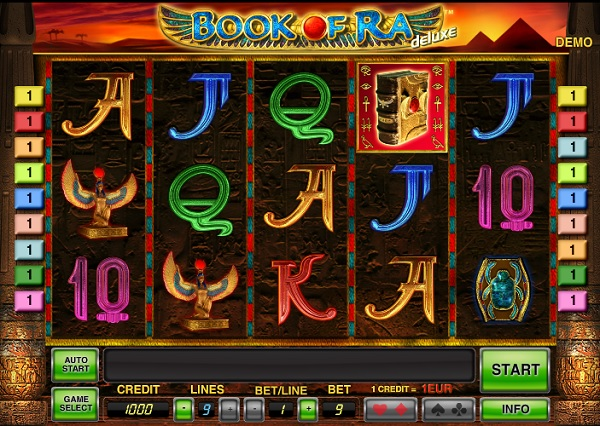 online slots games book of ra für handy